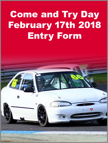 Come and Try Day 2018 Entry Form